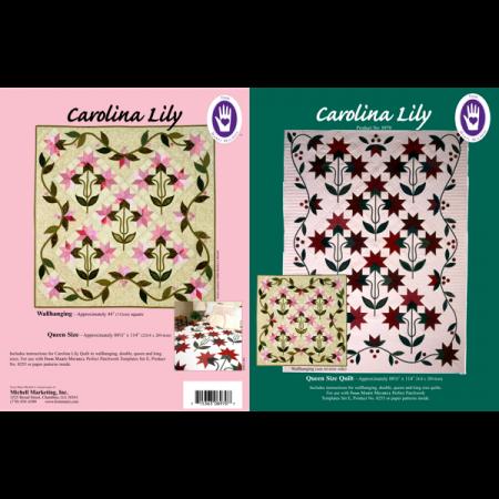 Marti Michell Quiltpatroon Carolina Lily 8970. Merk: Marti Michell