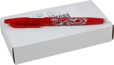 Frixion balpen markeerpen rood fijn. Met een fijne streep in rood