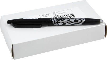 Frixion balpen markeerpen zwart fijn. Met fijne streep in zwart