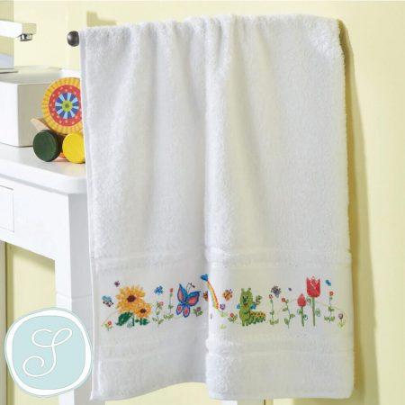 Tissu de Marie 19825 borduurpakket handdoek. Borduurpakket