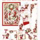 Lindner Borduurpatroon 092 Es Weihnachtet. Kerstsferen