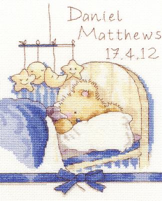 Bothy Threads Borduurpakket Aida Huggles Bedtime