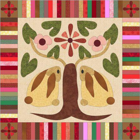 Maggie Bee Quiltpatroon. After Eden. Patroon voor een prachtige quilt.