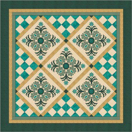 Maggie Bee Quiltpatroon. Dubbeldutch 2. Patroon voor een prachtige quilt.