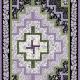 Gratis quiltpatroon Love Lilacs. Beschrijving patroon is in het Engels