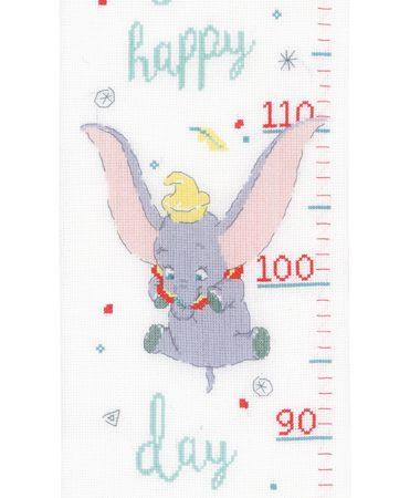 Vervaco Borduurpakket Aida Meetlat Dumbo Oh Happy Day