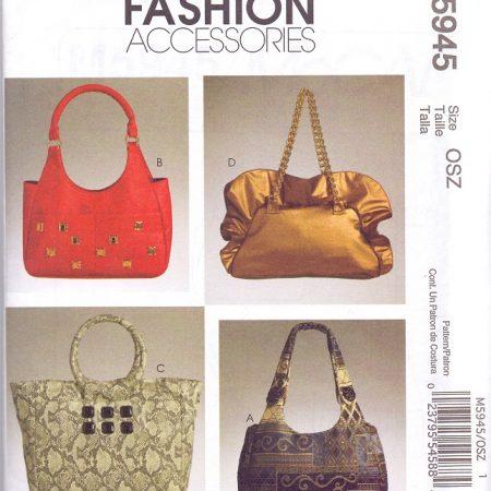 Mc Call's Fashion Accessories M5945 Handtassen