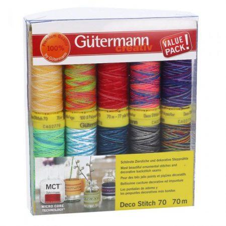 Gutermann naaigaren polyester naaigaren Deco Stitch