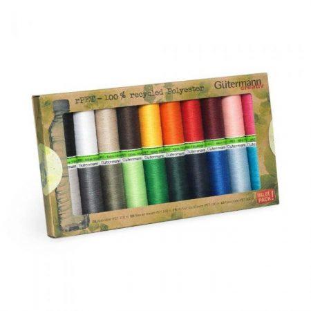 Gutermann naaigaren polyester alles naaigaren. 100 % recycled polyester