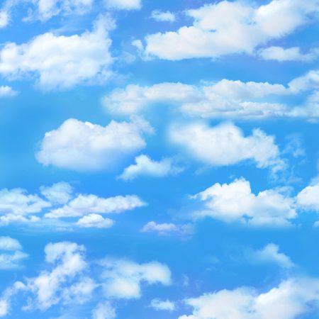 Quiltstof katoen Kleine wolken. Verkoop per 25 cm