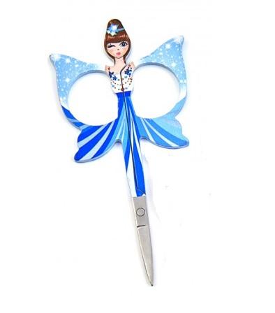 Sew Tasty borduurschaartje Embroidery Angels blauw