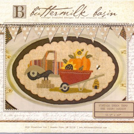 Buttermilk Basin Quiltpatroon Vintage trucks augustus
