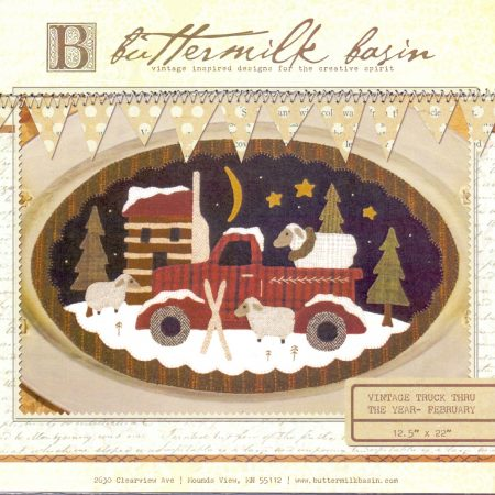 Buttermilk Basin Quiltpatroon Vintage trucks februari