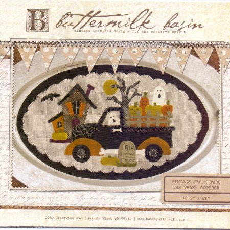 Buttermilk Basin Quiltpatroon Vintage trucks oktober