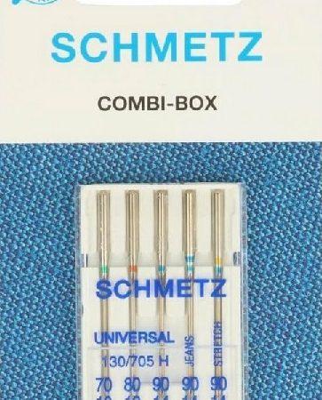 Schmetz Naaimachinenaalden Combi-Box 130/705 H