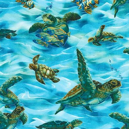 Michael Miller Zeeschildpadjes ABK-73543-59