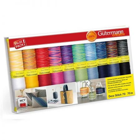 Gutermann naaigaren polyester naaigaren Deco Stitch 702165 col 1