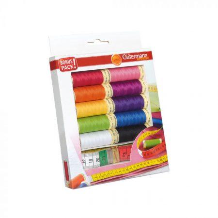Gutermann naaigaren polyester alles naaigaren met centimeterband 734581
