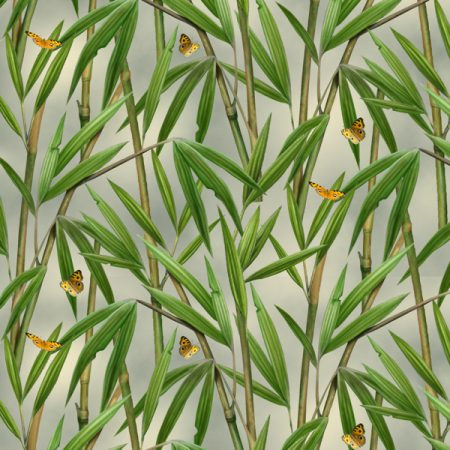 Quiltstof katoen Panda Bears Bamboo 1330