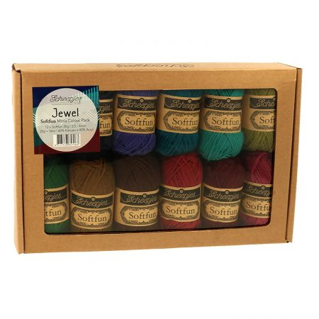 Scheepjes Brei- en haakgaren Softfun Minis Colour Pack Jewel