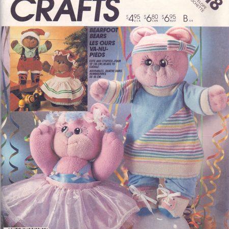 McCall's Crafts 2818 Een lieve beer