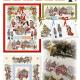 Lindner Borduurpatroon 135 Christkindlmarkt Kerstmarkt