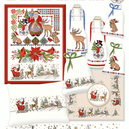 Lindner Borduurpatroon 072 X-Mas Kerstfeest