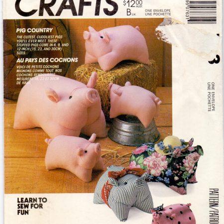 McCall's Crafts 763 Gezellige varkentjes
