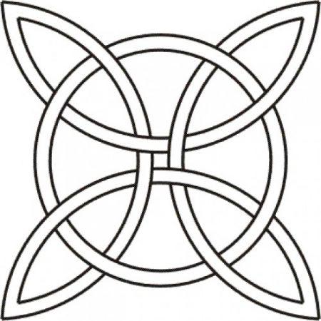 Quilting Creations Quilt Sjabloon Celtic Design klein BS19